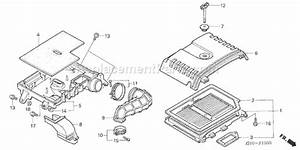 Honda Gx620 Parts List And Diagram