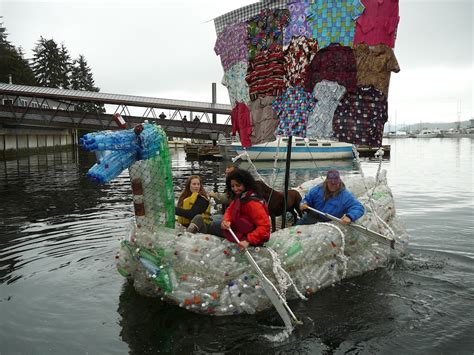 Water Bottle Boat by How To Recycle Recycled Plastic Bottles Boat