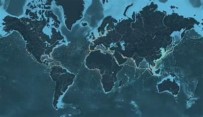Ships Map Global Shipping Traffic Animated Stunning