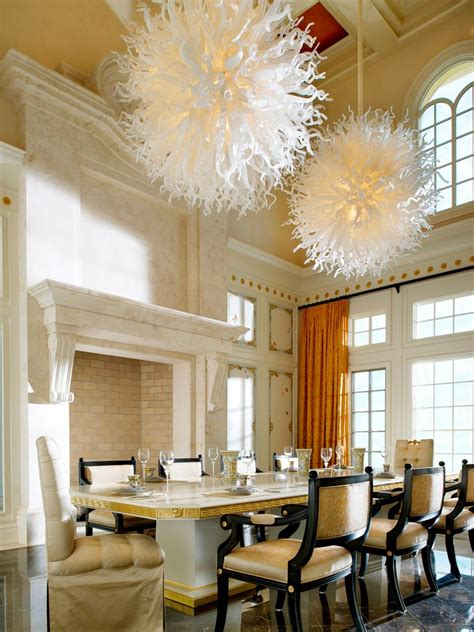 Chandeliers For Dining Room by Dining Room Lighting Designs Hgtv