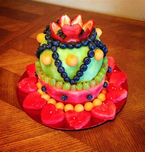 Fresh Fruit Cakes Made With Fresh Fruit