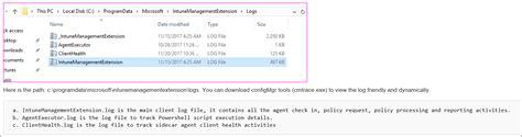 intune microsoft extension management docs script delete logs windows win32