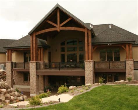 Hillside Walkout Basement House Plans Basement house