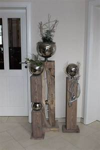 Alte Tür Deko : alte t r garten deko dekorieren holzs ule deko selbermachen basteln zu hause und deko ~ Watch28wear.com Haus und Dekorationen