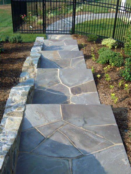 top   flagstone walkway ideas hardscape path designs