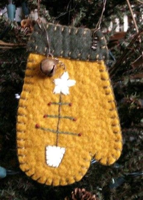 Mitten Christmas Tree Ornament