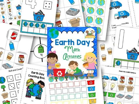 earth day math pre k pages 337 | Printable Earth Day Math Activities for Preschool