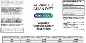 Private label Advanced Asian Diet supplement - Call 1 844 ...