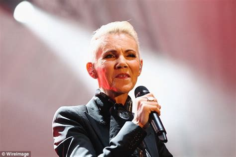 Roxette's Marie Fredriksson Stuns On Stage At The Sydney