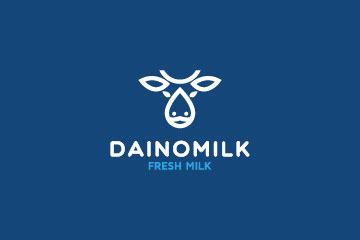 milk logo design logo  sale