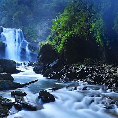 Idevice Ipad Waterfalls Ilikewallpaper Taiwan Forest