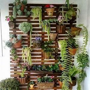 Jardin Et Balcon : jardin vertical pour terrasses ou balcons fait de ~ Premium-room.com Idées de Décoration