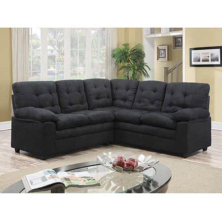 buchannan microfiber loveseat buchannan microfiber corner sectional sofa black walmart