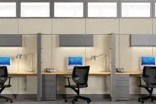 Corner Office Desk Ideas by Office Cubicle Storage Ideas Modern Office Cubicles
