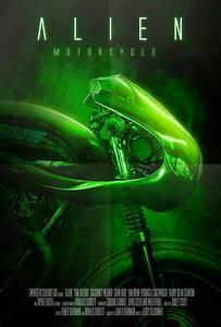 Alien Motorcycle Concept