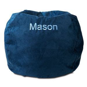 personalized bean bag chairs  kids lillian vernon
