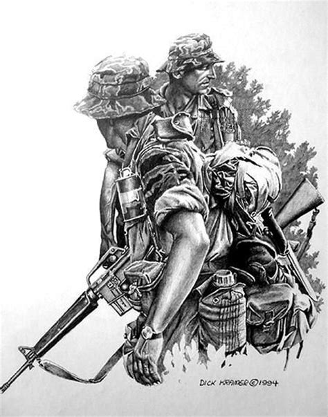 Pin by Jason Schlake on tactical   Military tattoos, Military drawings, Vietnam war