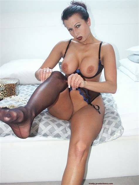 Free Milf Pics Trinity Clothed Glamour Sex Fetish Busty Milf In Stockings And Pantyhose