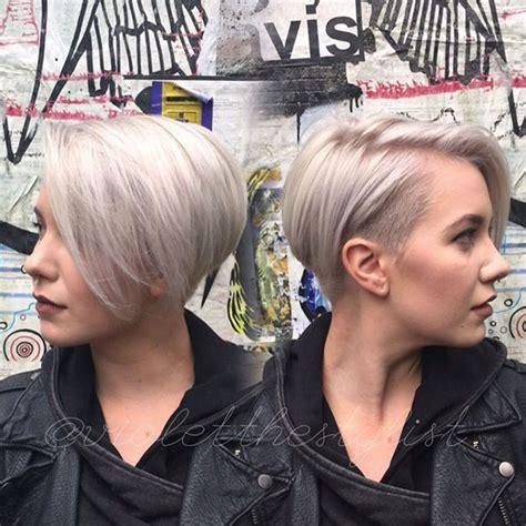 undercut short bob hairstyles  haircuts  women