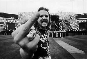 James Hetfield – Black Album Tour   Ross Halfin