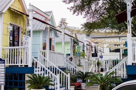 Pier Village Shops by Winter Romance At The Beach St Simons Island Ga