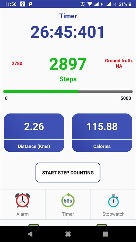 step app counter fitness template android screenshot codester screenshots