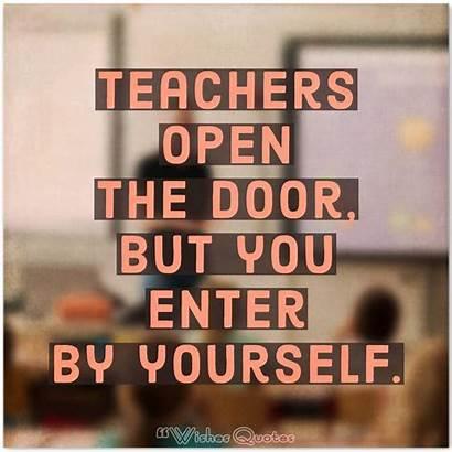 Knowledge Quotes Open Door Teachers Wishesquotes Famous