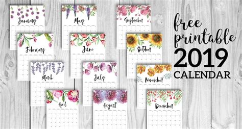 amazon christmas deals 2019 free printable calendar 2019 floral paper trail design