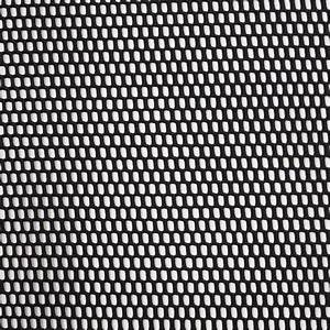 Black Polyester Wonder Mesh Fabric by the Yard | Mood ...