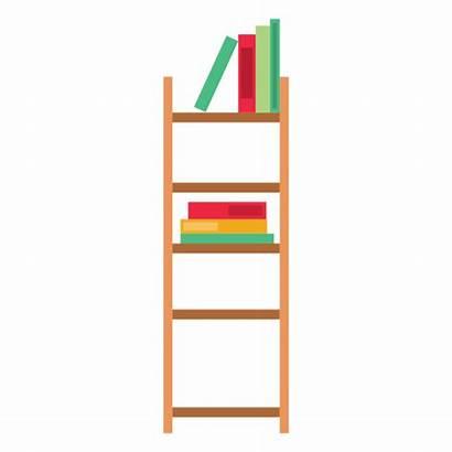 Bookshelf Clipart Office Transparent Svg Plant Single