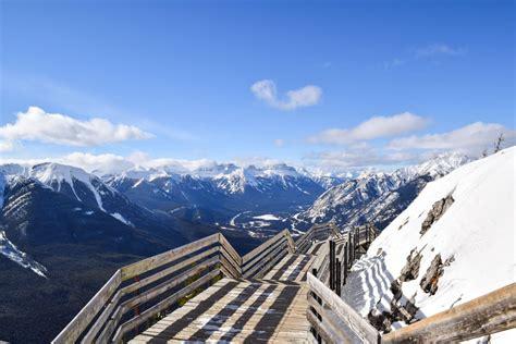 Banff Alberta Canada Top Things Winter For