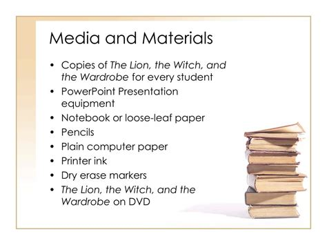 The Lion The Witch And The Wardrobe Sparknotes