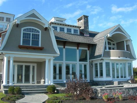 Traditional New England Style Homes  Beach Style