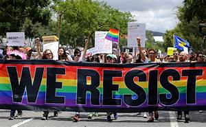 LGBT activists launch 'resist march' in California to ...