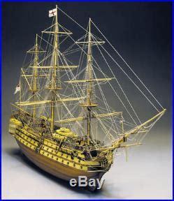 amati hms vanguard  wooden tall ship model kit victory