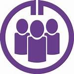 Purple Circle Gmail Transparent Logos Icons Clip
