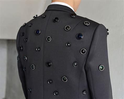 aposematic jacket   defense surveillance suit