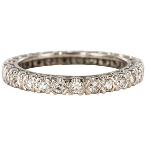 1950s diamond platinum wedding ring for sale at 1stdibs