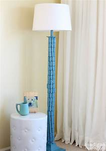 Handsome diy arc floor lamp floor lamp diy floor lamps for Diy led floor lamp