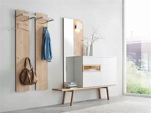 Skandinavische Möbel Design : skandinavische m bel garderobe fia 10 eiche wei m bel ~ Watch28wear.com Haus und Dekorationen