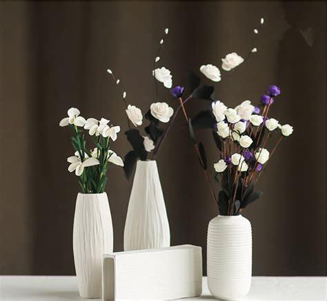 flower vase decoration home fashion white ceramic flower vase for homes decorative vases home decoration modern or wedding