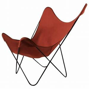 Hardoy Butterfly Chair : hardoy butterfly chair with original orange canvas sling seat for sale at 1stdibs ~ Sanjose-hotels-ca.com Haus und Dekorationen