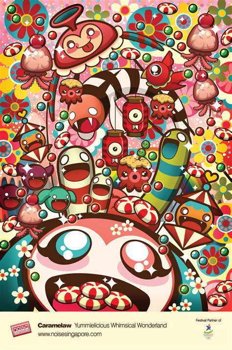 inspiring illustrations  sheena aw art spire