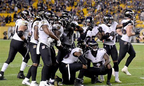 ravens defensive report card  steelers week