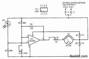 Photocell Bridge - Basic Circuit