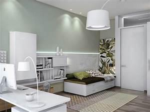 Wandgestaltung Büro Ideen : b ro und g stezimmer kombinieren ideen f r einen ~ Lizthompson.info Haus und Dekorationen