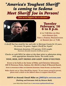 Sedona Eye » America's Toughest Sheriff Coming to Town
