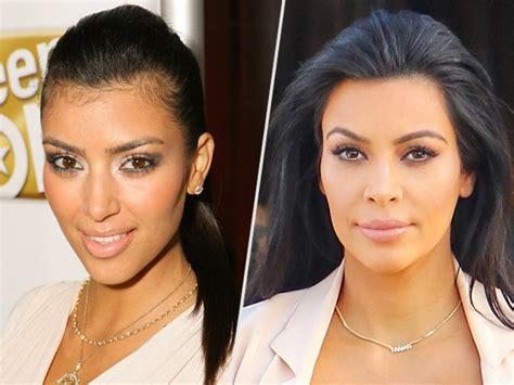 kim kardashian  hair removal     hairy neck