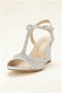silver wedge bridesmaid shoes 25 best ideas about wedge wedding shoes on bridal wedges wedding shoes and