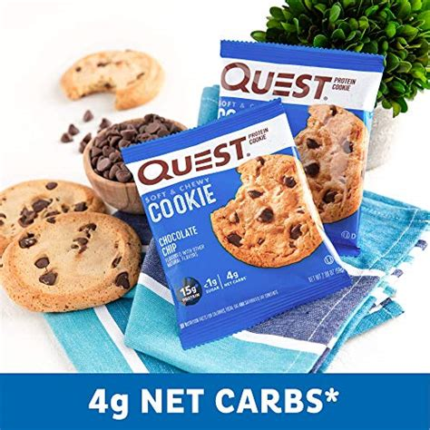Get sugar free cookies quotations from the most suitable suppliers for your business. Quest Nutrition Chocolate Chip Protein Cookie, Keto ...
